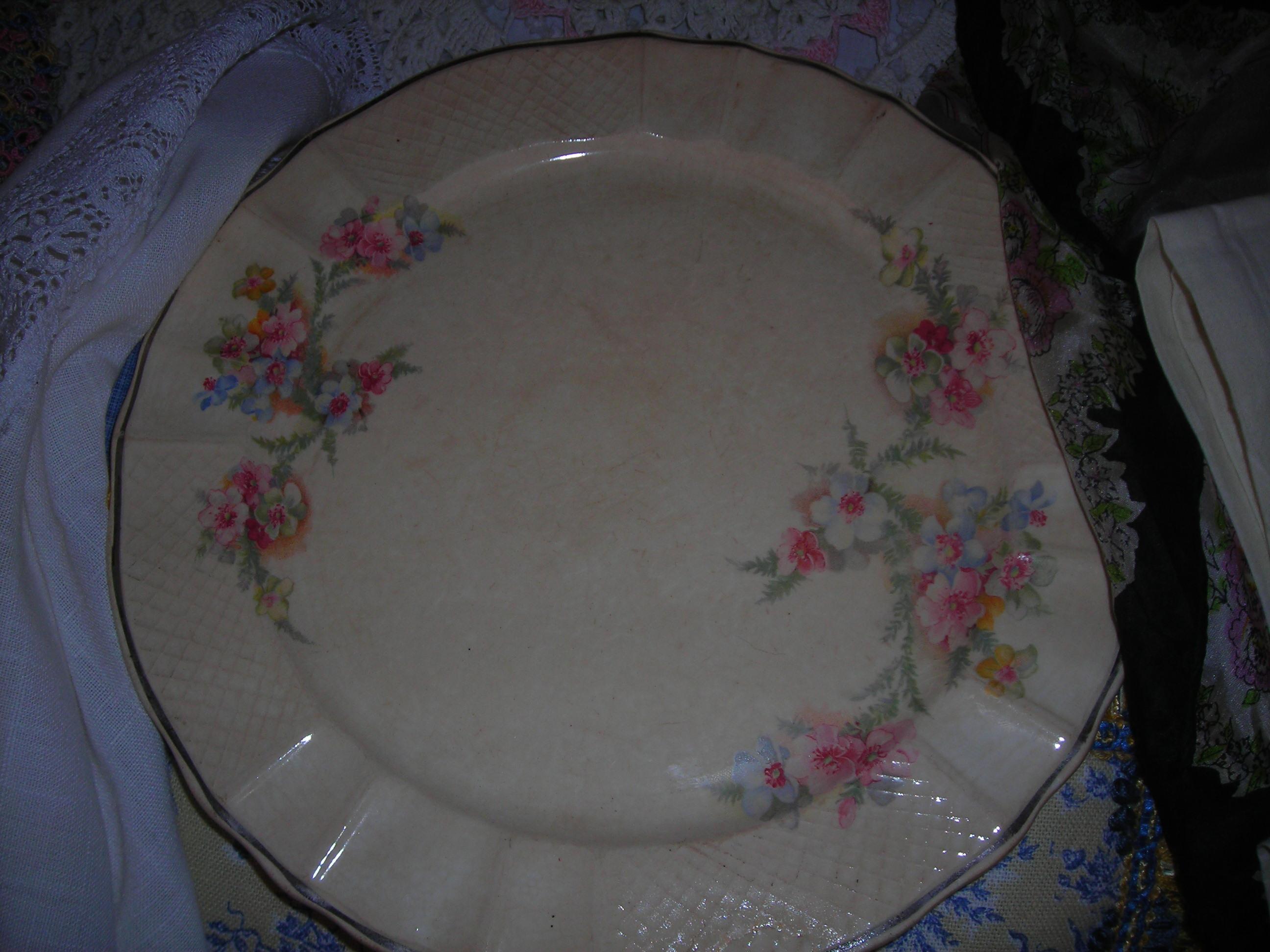 sweet SWEET vintage plate