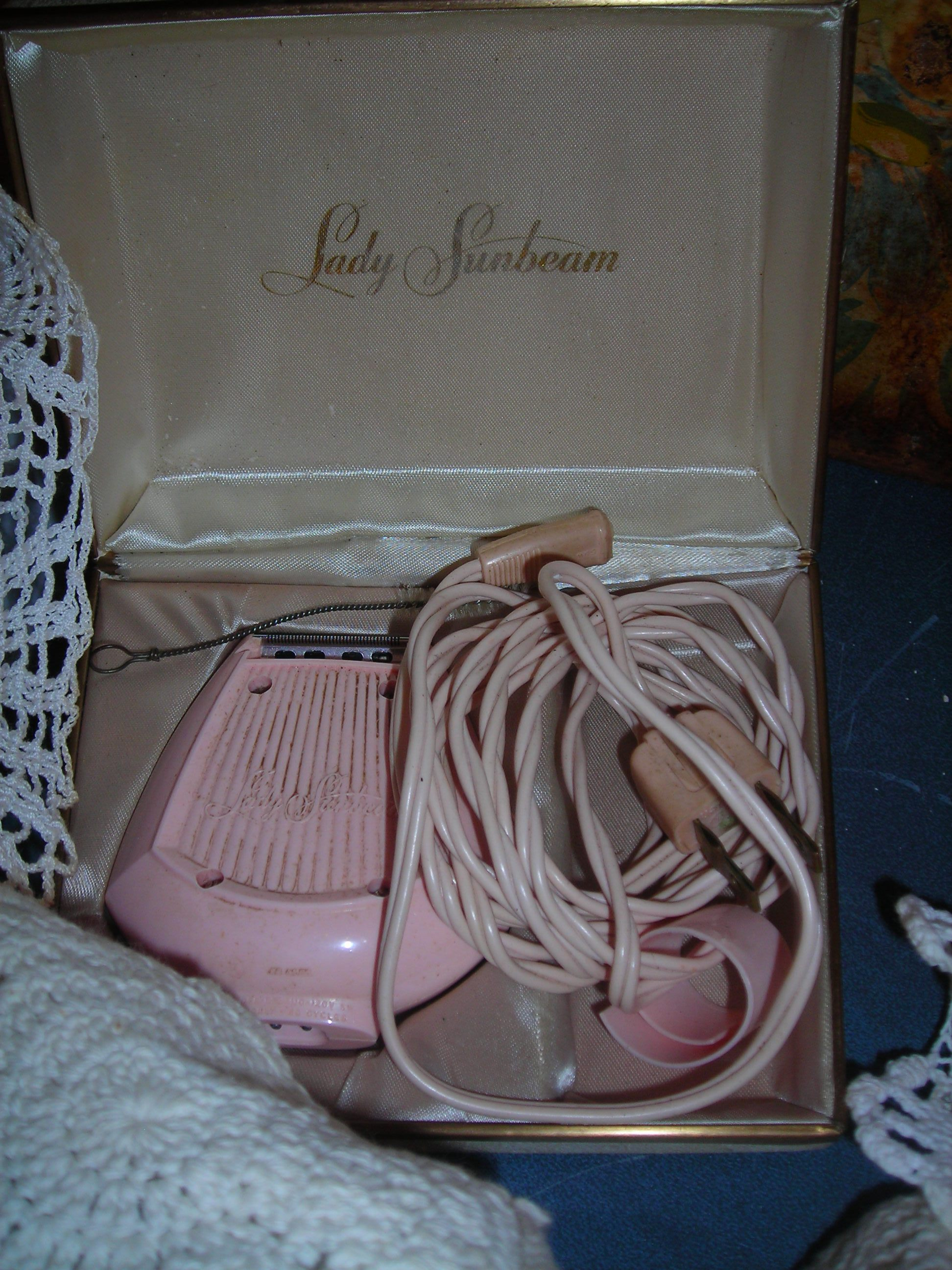 the vintage pink lady sunbeam (for 'underarms') ha!