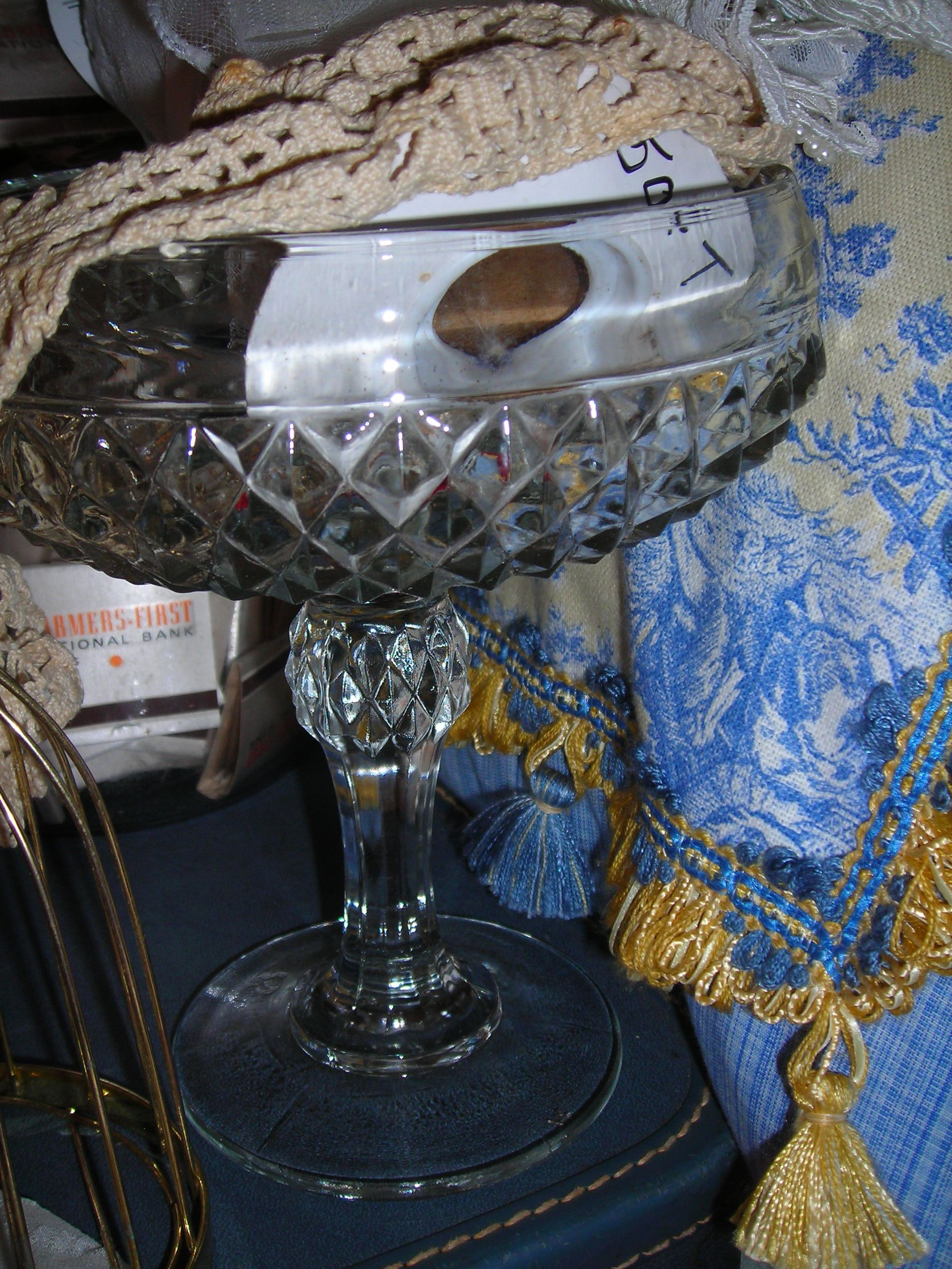 great cut-glass bowl