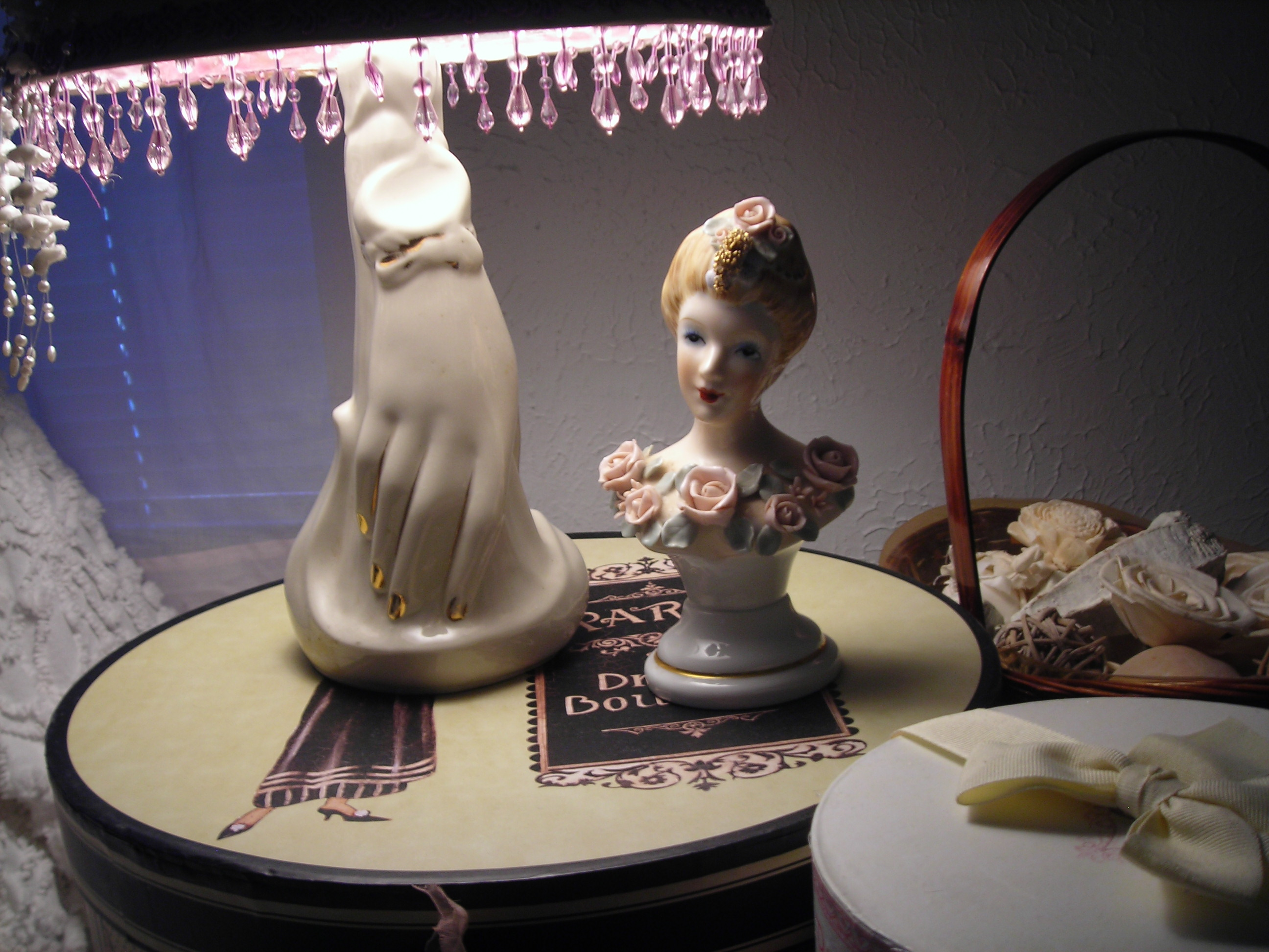 sweet little lady figurine