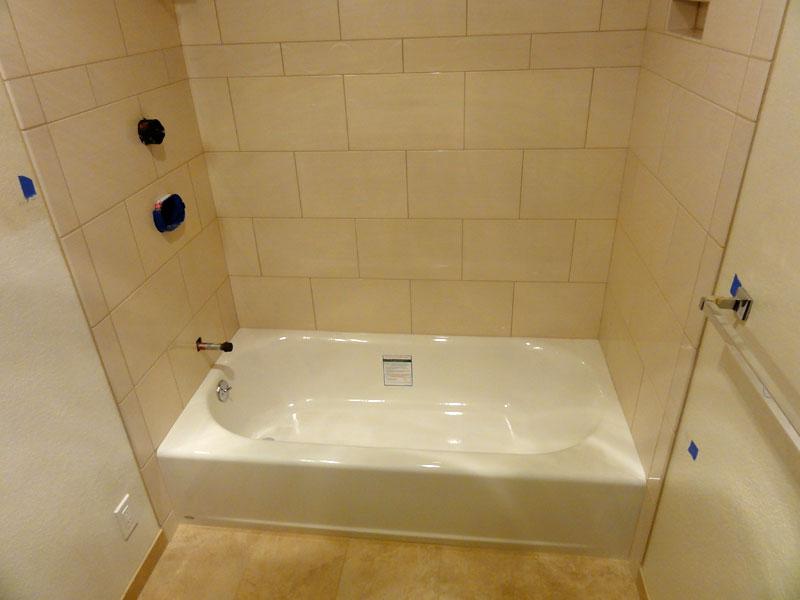 installing a new bathtub grohe tub