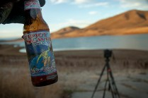A toast to my friend, colleague, and mentor, Wilson Hurst. We discovered Big Sky Brewing while photographing stars in the Tall Grass Prairie in Kansas. Here's a toast to you, Wilson! © 2013 Terry Ownby. Nikon D70, 18-70mm.
