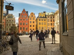 Gamla Stan town square, Stockholm, Sweden