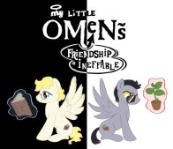 My Little Omens by Launchycat (Lee Hesketh)