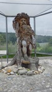 statue at Wallsee