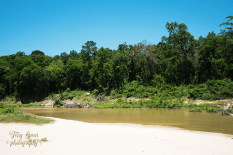 white sand beach on the Spring Creek 900 098
