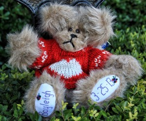 Bayleigh Personalized Sweater Bear