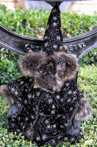 Minky Wizard Bear
