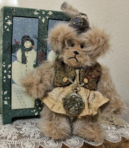 Steampunk Light Brown Bear-sold!