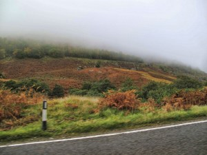 Fog in Scotland