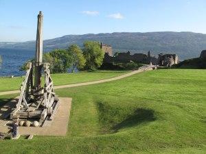 Urquhart Castle catapult