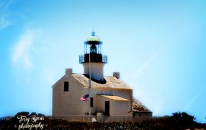 lighthouse top of hill San Diego 600x400 text