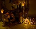 sleigh and village, snowman, penguin 900 no flash 041