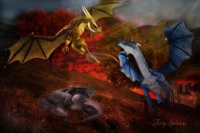 dragons courting 1000