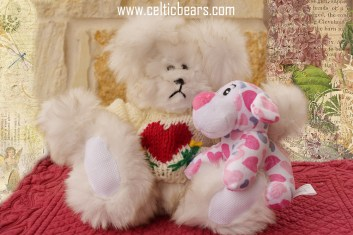 heart bears--white, 1000 011