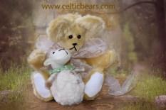 Sunshine Mohair Bear Easter lamb 1000 005