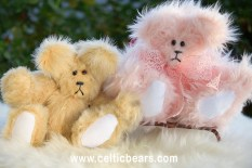 Powder puff bear and Butterscotch Bear 1000 002