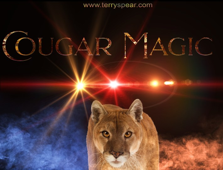 Cougar Magic with lens flare fun4