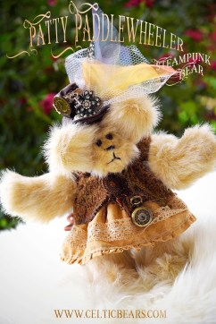 Steampunk Bear Patty Paddlewheeler 1000 002