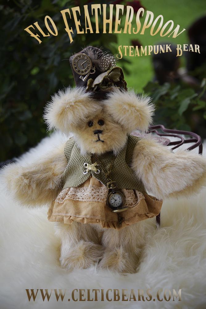 Steampunk bear Flo Featherspoon 1000 003 | Terry Spear's Shifters