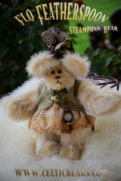 Steampunk bear Flo Featherspoon 1000 003