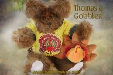 Thanksgiving bears Thomas and Gobbler 1000 009