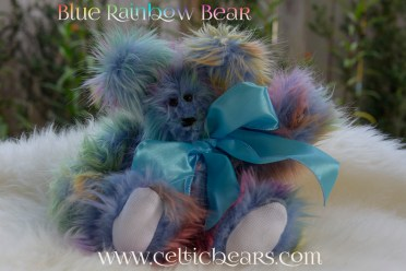 blue rainbow bear 1000 007