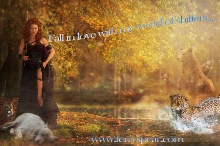 fall Gia warrior bears, wolf, cougar, jaguar Fall in Love 1000