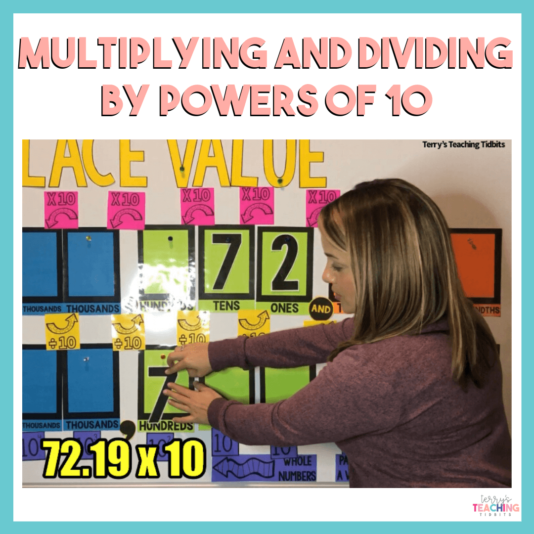 Multiplying Amp Dividing Decimals By Powers Of 10