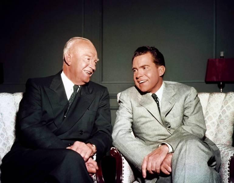 Eisonhower and Nixon