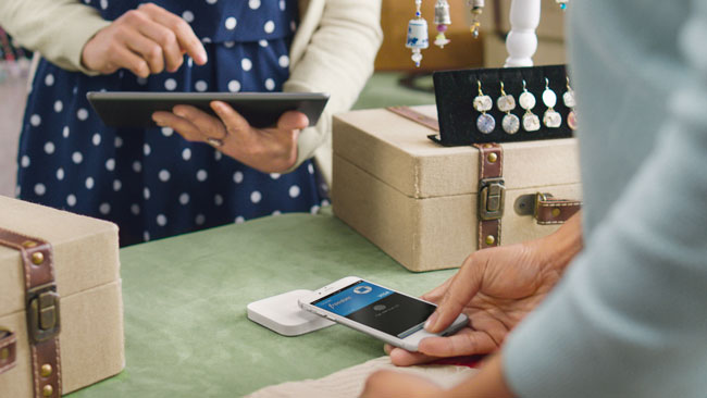 Square Chip Reader Apple Pay