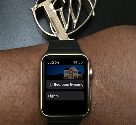 Lutron Caséta on Apple Watch
