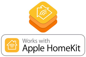 Works with HomeKit