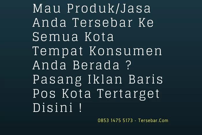 Iklan Baris Pos Kota