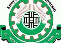 Sunyani Technical University Cut off Points