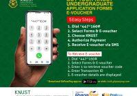 KNUST Undergraduate Admissions for 2020/2021 academic year