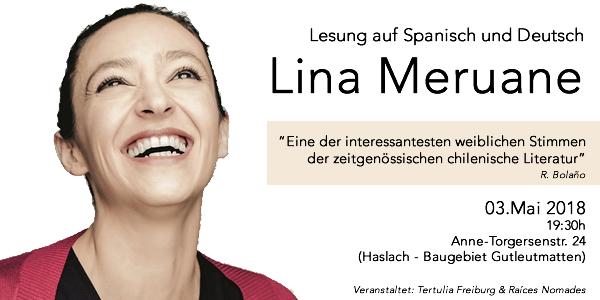 3.05.2018 Lina Meruane – Escritora chilena en Freiburg