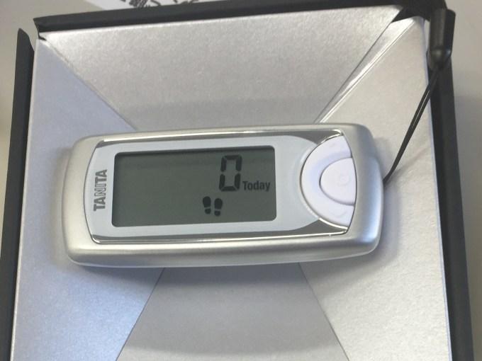 タニタの活動量計はダイエットには最適