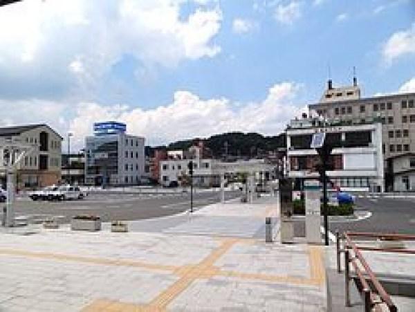 二本松駅前のロータリーは静かすぎる