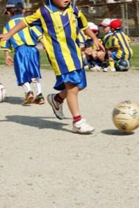 子供とサッカー