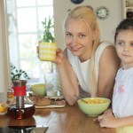 親子の朝食
