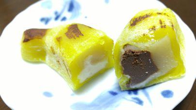 バナナ大福カット