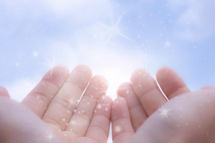 手のひらに太陽
