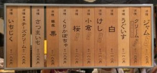 木村屋のパン