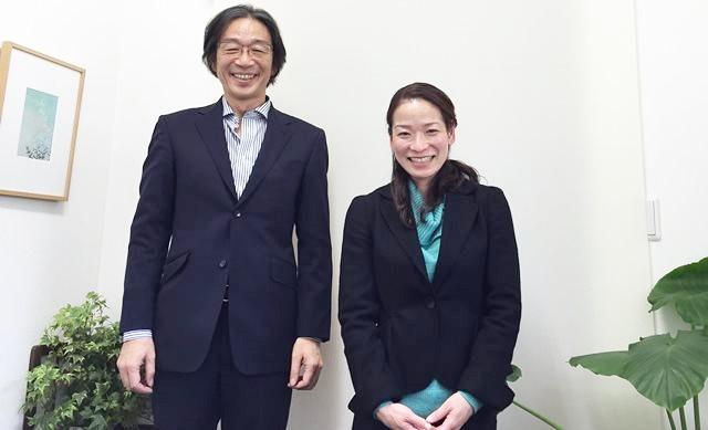 竹内代表と伊佐早カウンセラー
