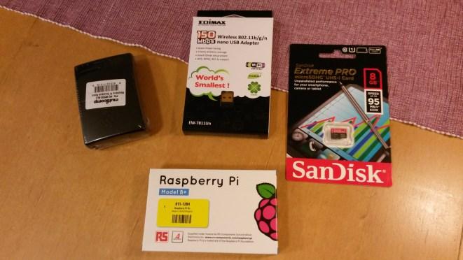 Raspberry Pi B+ Kit