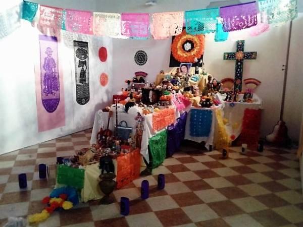 altar de muertos venezia 2015