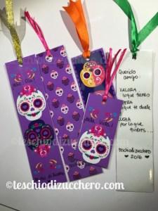 Printable bookmarks di Dia de Muertos