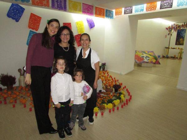 Altares de Muertos Istituto Cervantes 2015