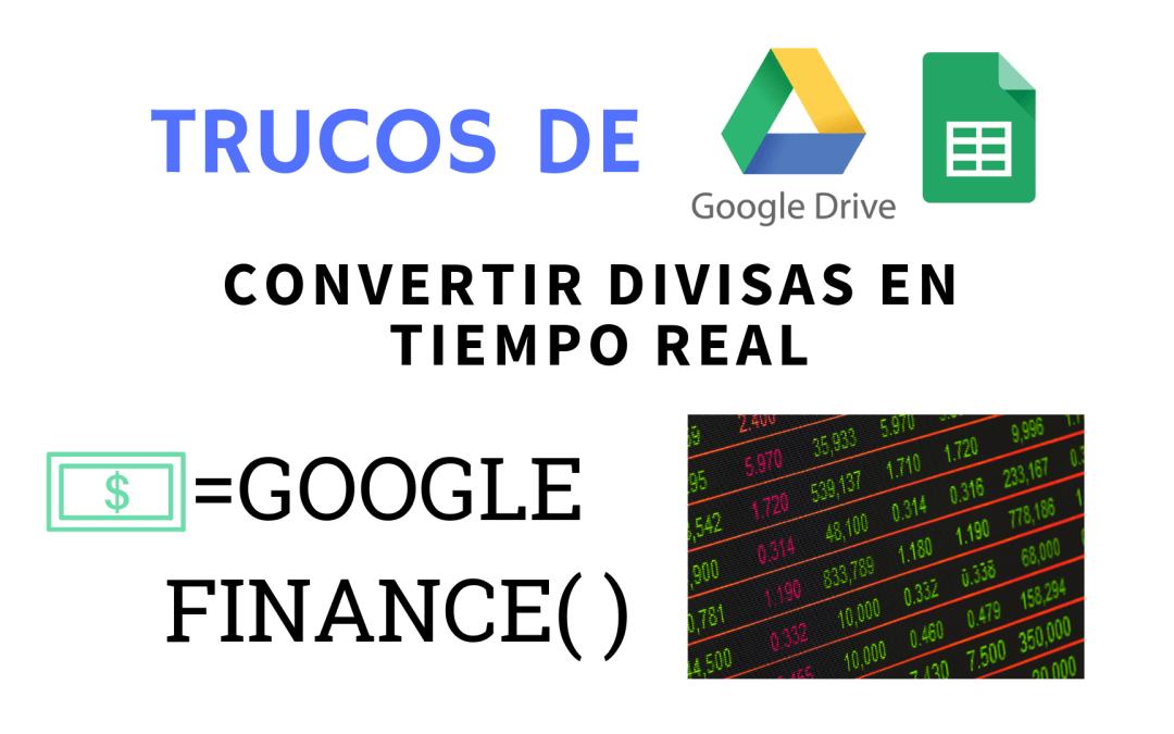 Obtener el precio del dólar en tiempo real en Google Sheets (Hojas de Cálculo de Google)